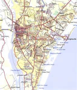 printable map of city map of wilmington new hanover
