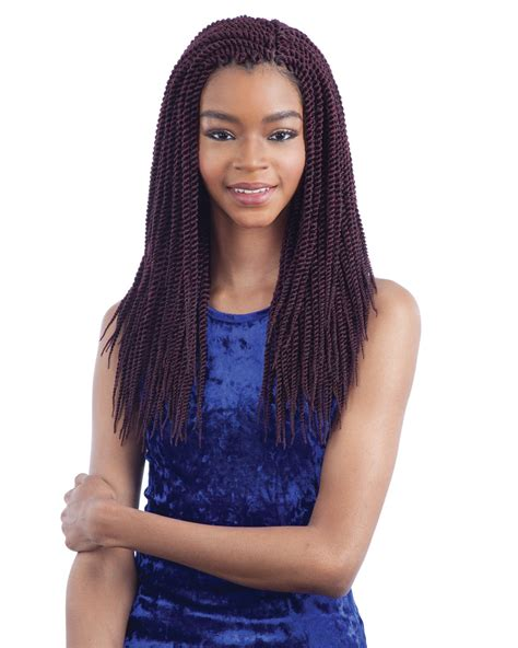 large miccrow braids model model glance crochet braid large senegalese twist 14