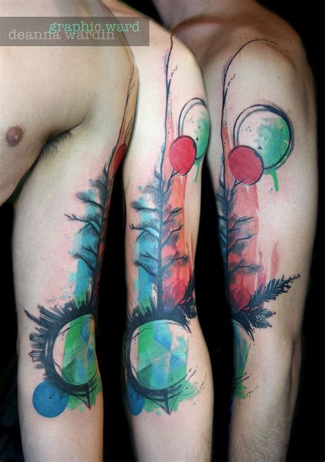 watercolor tattoos san diego 13 best tattoos abstract watercolor work images
