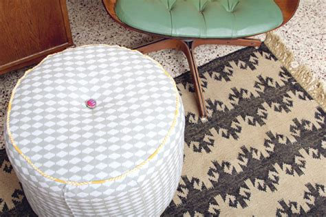 make your own pouf ottoman diy structured pouf ottoman making nice in the midwest