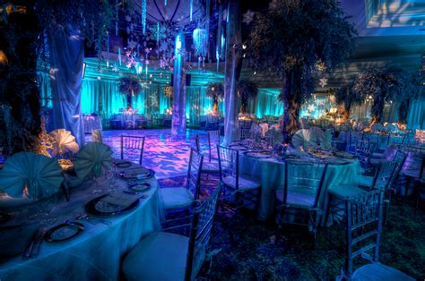 blue themed events weddings social gallery hylite