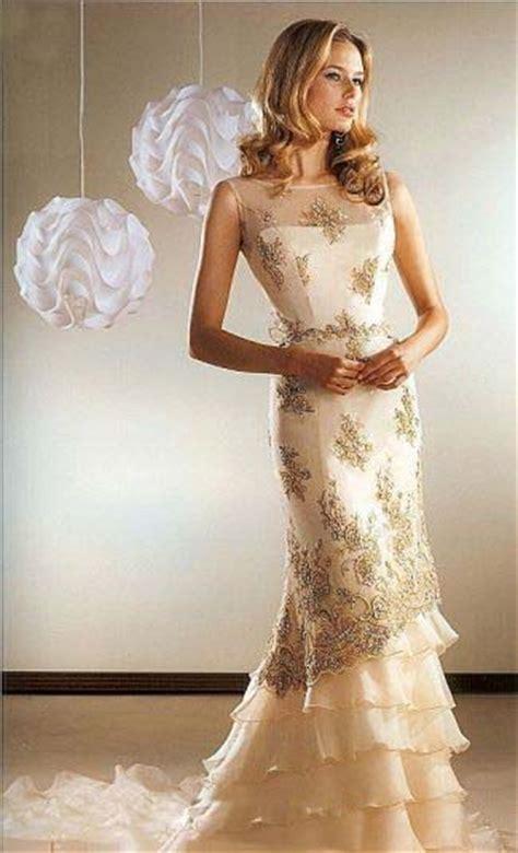 romantic cream colored wedding dresses archives the