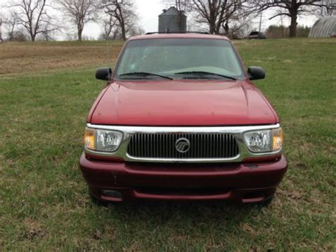 how to sell used cars 1998 mercury mountaineer electronic throttle control sell used red maroon 1998 mercury mountaineer 5 0l awd 108 000 miles in west des moines iowa