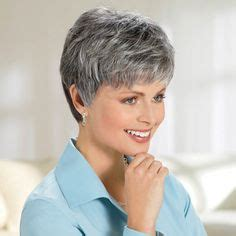 salt and pepper wigs for women over 60 image result for salt and pepper hair women hair cuts