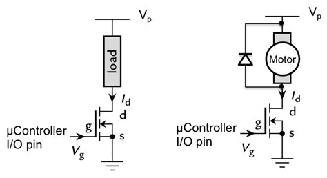 tipe transistor driver driving heavy current loads benn thomsen