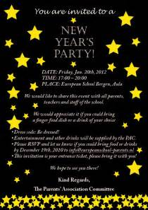 new years invitations theruntime