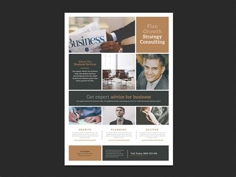 templates for business posters free multipurpose business poster template for photoshop