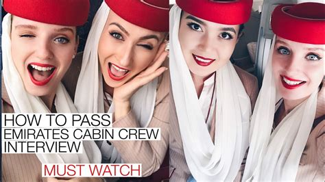 pass emirates cabin crew interview   youtube