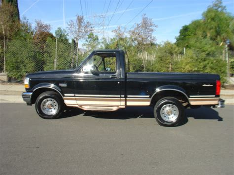 ford f150 single cab short bed for sale 1994 ford f150 f 150 short bed single cab eddie bauer 1996