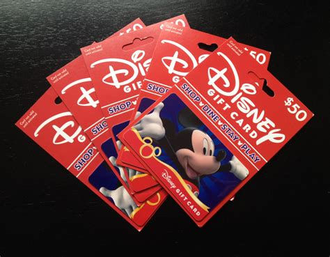 Discounted Disney Gift Card - what can i use a disney gift card for at walt disney world
