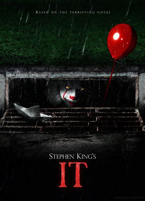 film 2017 it stephen king s it 2017 poster 1 by camw1n on deviantart