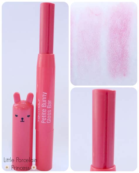 Harga Tony Moly Bunny Gloss Bar porcelain princess review tony moly bunny