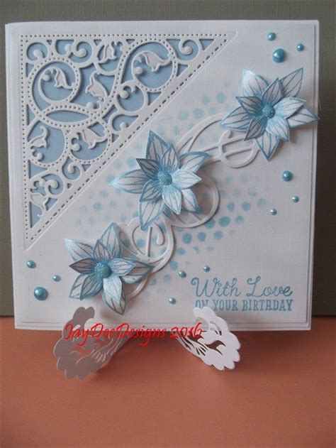 Handmade Die Cut Cards - 25 best ideas about spellbinders cards on