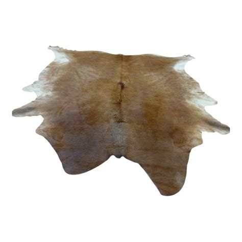 skin rug light brown white animal cow hide rug carpet runners uk