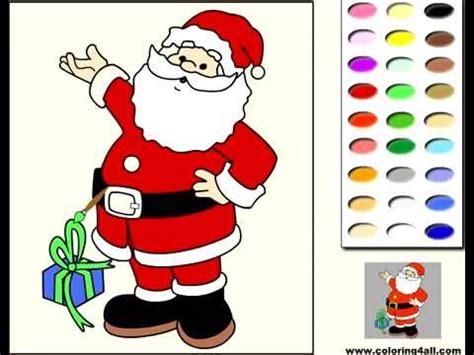 imagenes de santa claus para blackberry santa claus coloring game p 225 gina en l 237 nea para colorear