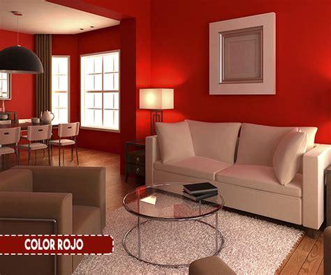 color de pinturas para interiores de casas rojos para interiores