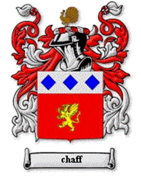 House Of Names by 143coat Of Arms Chaffe Chaffey Chafe Family Surname