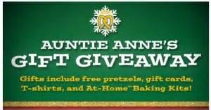Auntie Anne S Gift Card - auntie anne s gift giveaway quot win a 15 auntie anne s gift card