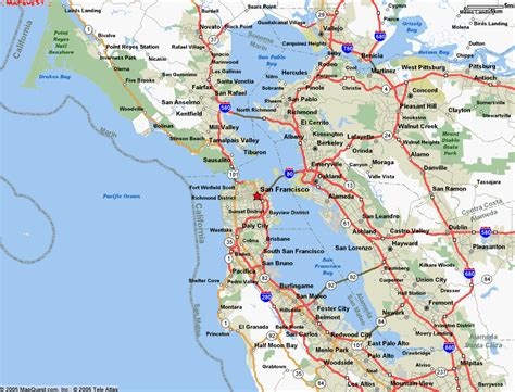 map of san francisco awesome map of san francisco california travelsmaps