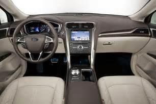 Ford Fusion Leather Interior 2017 Ford Fusion