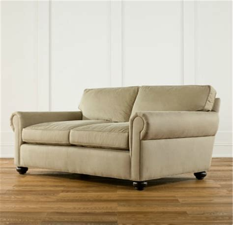lancaster sofa from restoration hardware living room