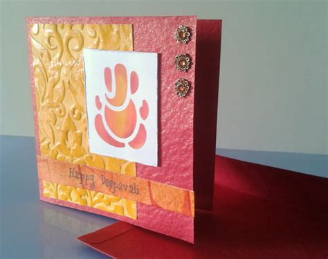 Handmade Greeting Card Ideas - diwali greeting card ideas family net