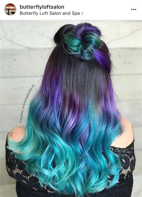 hairstyles with dyed ends 593 best images about blue hair on pinterest blue and