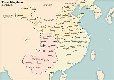 Three Kingdoms A Historical Novel cao wei