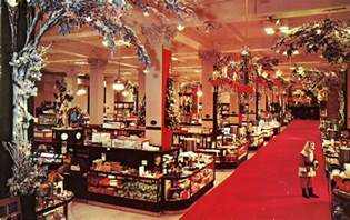 images of department store vintage christmas windows