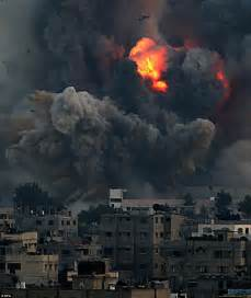 Palestine Gaza israel launches 160 overnight airstrikes in gaza daily mail