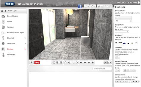 3d bathroom planner best free online bathroom planner tools 2017