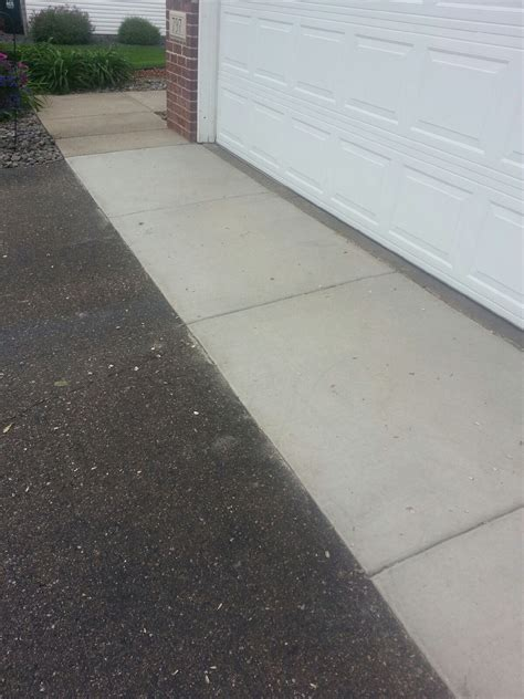 Garage Apron Minneapolis Concrete Driveways Concrete Aprons Asphalt