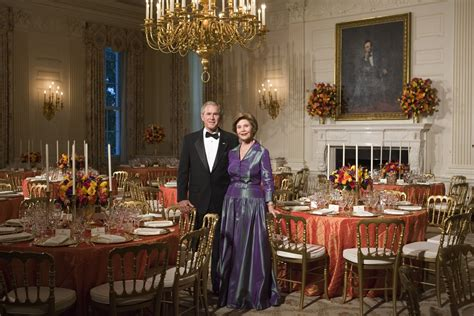bush dining rooms dining diplomacy the george w bush presidential