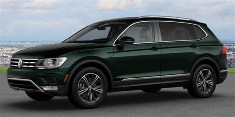 dark green volkswagen what color options are available for the 2018 vw tiguan