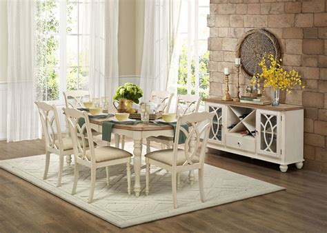 antique white dining room sets homelegance 5145w 78 azalea dining room set in antique white