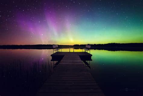 nasa s satellite captured the stunning northern lights