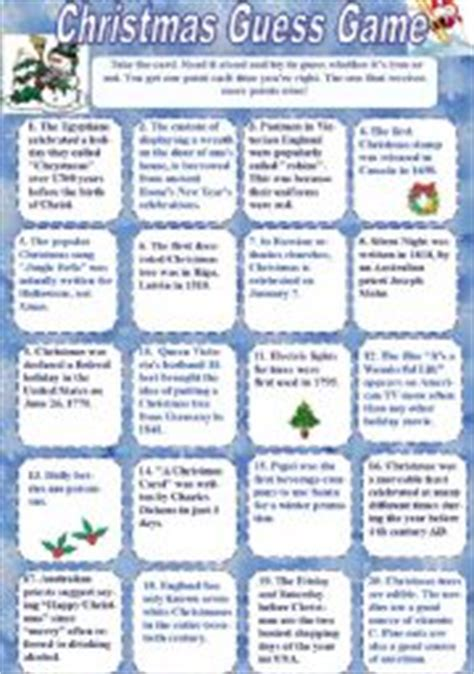 guessing games for christmas worksheets worksheets page 3