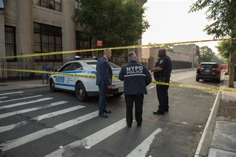 bed stuy shooting two men and a young woman wounded in early morning bed