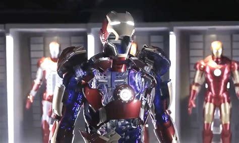 life size iron man suit motors powering parts