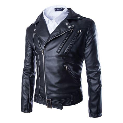 Jaket Zipper Cloud 9 Putih s faux leather zipper motorcycle jacket 101980