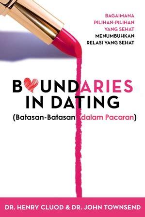 Boundaries In Dating Henry Cluod Townsend jual 64 judul buku psikologi pemulihan konsel