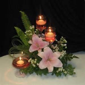 flower arrangements with candles wedding floral arrangements best images collections hd
