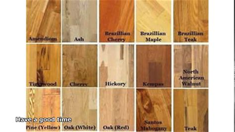 types of hardwood floors youtube