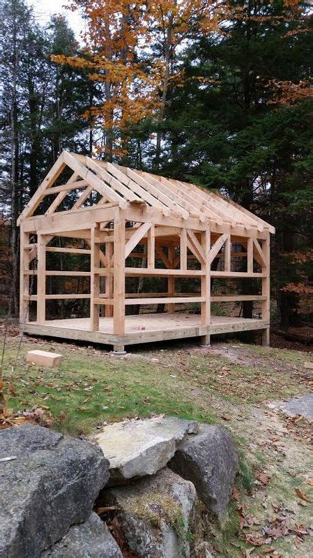 projects campbell timberworks timber frame shed garden