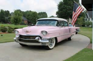 1956 Pink Cadillac 1956 Cadillac Fleetwood Elvis Pink And White For Sale