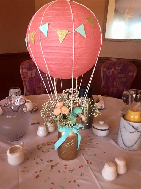 Grosir Dress Ctr Air Balon air balloon centerpiece for baby mara s shower things i ve tried balloon