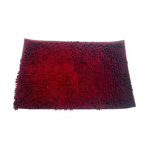 Fiber Merah jual dcera microfiber keset cendol merah maroon