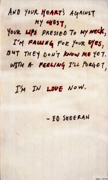 Ed Sheeran Lyrics | song lyrics ed sheeran fan art 32587883 fanpop