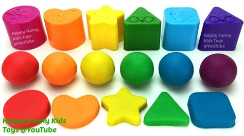 Play Doh Shape Learn Colors And Shapes learn colors and shapes with play doh balls baby shape sorting play foam eggs