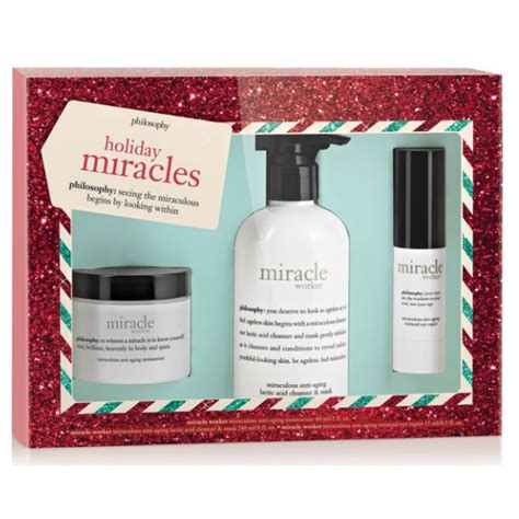 philosophy holiday miracles gift set ch beauty